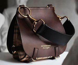fashion, Burberry, and bag image