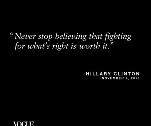 believe and Hillary Clinton image