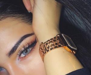 art, beautiful, and eyebrows image