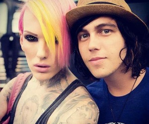kellin quinn, jeffree star, and sleeping with sirens image