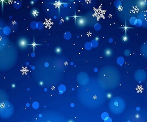 pink, snowflakes, and wallpaper image