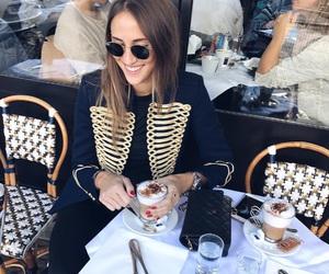 coffe, girl, and inspiration image