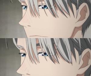 anime, blue, and eyes image