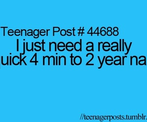 nap and teenager post image