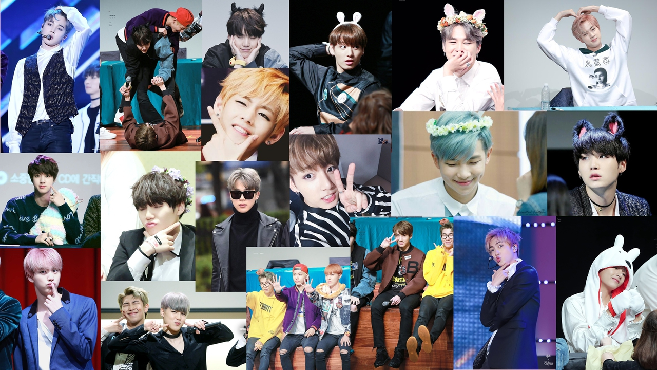 Bts Puter Background Shared By Emy On We Heart It