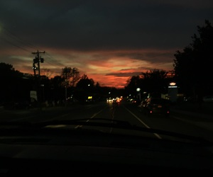 nature, photography, and sunset image