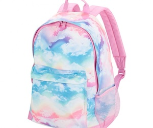 backpack, school, and watercolor image