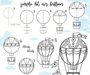 arte, balloon, and diy image