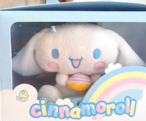cinnamoroll and blue image