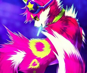 cat, fox, and furries image