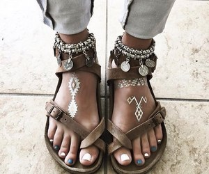 shoes, style, and boho image