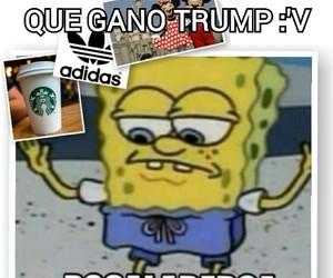 meme, bob esponja, and funny image