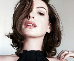 Anne Hathaway and lips image