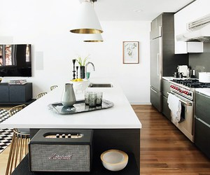 home tour, brooklyn home, and modern eclectic image