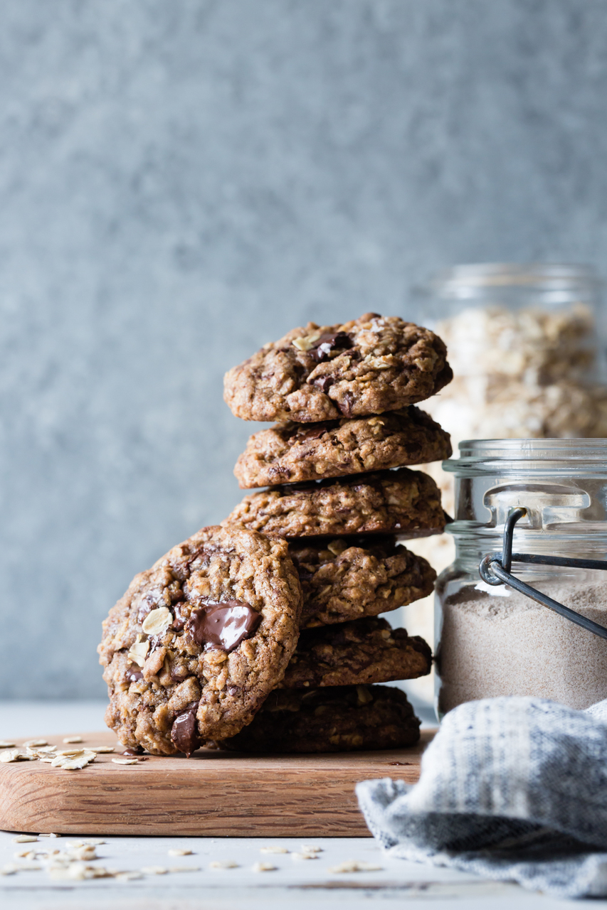 chocolate chip, Cookies, and food image