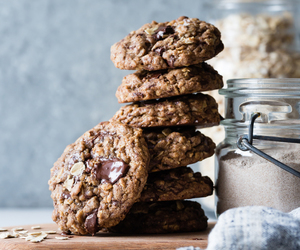 chocolate chip, food, and gluten-free image