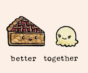 wallpaper, better together, and food image