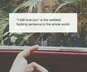 break up, quote, and sad image