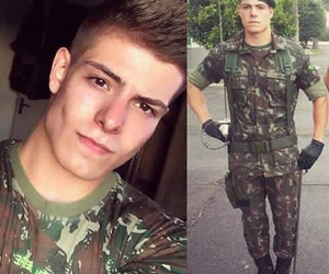 beautiful, boy, and military image