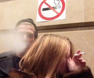 cigarette, grunge, and boy image
