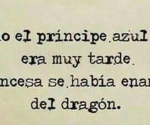 love, dragon, and princesa image
