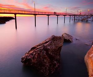 australia, darwin, and jetty image