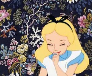 alice in wonderland, wallpaper, and disney image