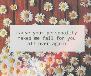 love, personality, and quotes image
