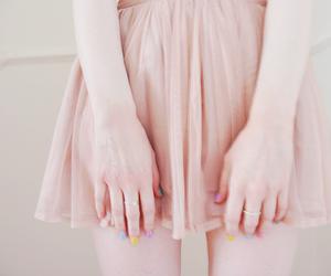 color, girl, and nailpolish image