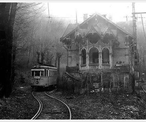 b&w, budapest, and dark image