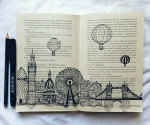 book, drawing, and art image