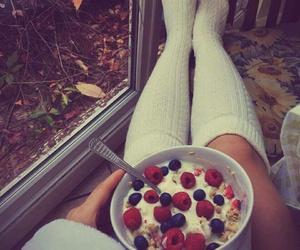 autumn, food, and mood image