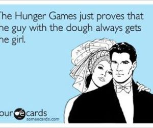 hilarious, yes, and hunger games image