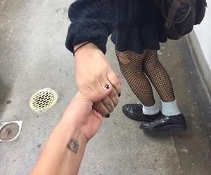 grunge, tumblr, and couple image