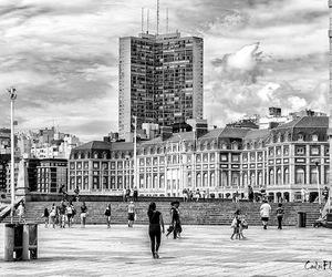 argentina, blanco y negro, and ciudad de mar del plata image