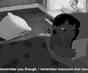 lilo, sad, and quotes image