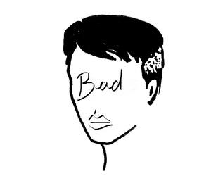 art, bad, and drawing image