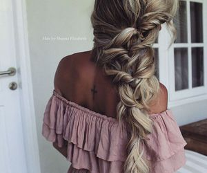 blonde, fashion, and hair styles image