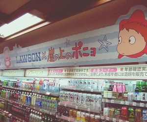 japan, Ponyo, and drinks image
