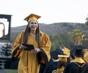 zendaya and graduation image