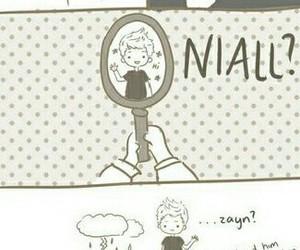 one direction, zayn malik, and niall horan image