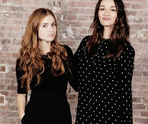 crystal reed, holland roden, and teen wolf image