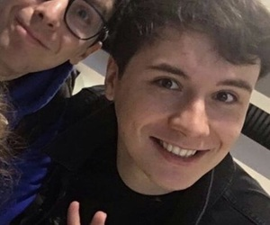 amazingphil, low quality, and dan and phil image