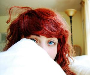 eyes, hair, and blue eyes image