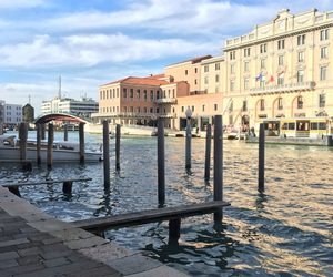 italy, trip, and venice image
