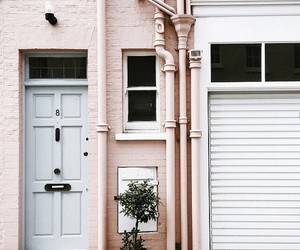 pink, tumblr, and house image