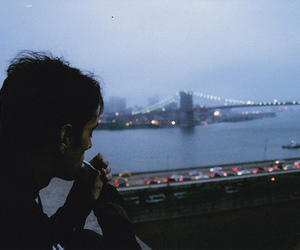 boy, city, and grunge image
