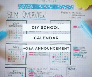 diy, planner, and planning image
