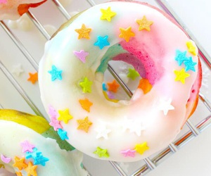 donuts, sprinkles, and stars image