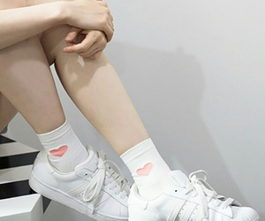 shoes, aesthetic, and white image